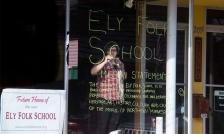 ely folk school in progress