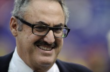 MINNEAPOLIS, MN - OCTOBER 13: Zygi Wilf, owner of the Minnesota Vikings is seen on the field before the game between the Minnesota Vikings and the Carolina Panthers on October 13, 2013 at Mall of America Field at the Hubert H. Humphrey Metrodome in Minneapolis, Minnesota. The Panthers defeated the Vikings 35-10. (Photo by Hannah Foslien/Getty Images)