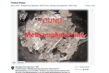 lost meth mobridge police department