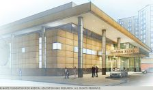 Rendering of the New Proton-Beam therapy facility at Mayo Clinic in Rochester, Minn.