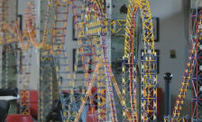 K'nex ball machine