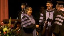 Kathleen Mattison graduation