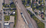 NE Minneapolis train yard