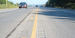 Minnesota road rumble strips