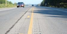 Minnesota road rumble strips