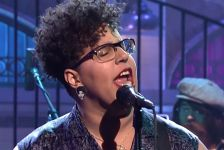 Alabama Shakes performs on Saturday Night Live in March 2015.