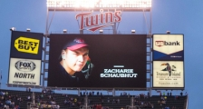 zach schaubhut twins game screen
