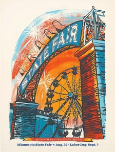 2015 State Fair poster
