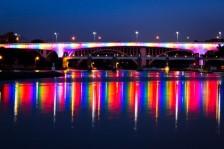 35-W bridge during Pride