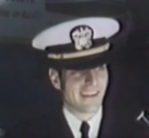 Navy Cmdr. David Wheat in 1973