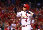 Getty Editorial DO NOT REUSE -- Yadier Molina vs. twins
