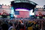 GREEN BAY, WI - SEPTEMBER 08: Kid Rock performs during the 2011 NFL Kickoff concert at Lambeau Field on September 8, 2011 in Green Bay, Wisconsin. (Photo by Daniel Boczarski/Getty Images)