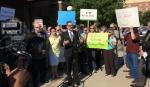 MPCA citizens board protest