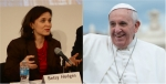 betsy hodges pope francis side by side