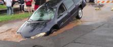 Duluth flood damage