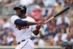 MINNEAPOLIS, MN - JULY 12: Miguel Sano #22 of the Minnesota Twins hits a two-run home run against the Detroit Tigers during the first inning of the game on July 12, 2015 at Target Field in Minneapolis, Minnesota. (Photo by Hannah Foslien/Getty Images)