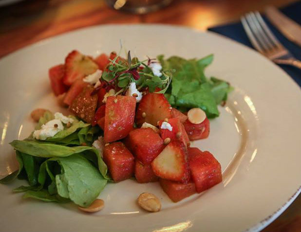 Coalition Strawberry Watermelon Salad in Lake Minnetonka Eats