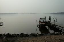 Minnesota-lake-hazy-weather