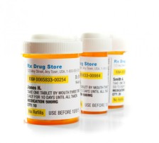 prescription medication bottles – iStock