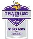 Vikings training camp logo