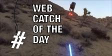 Web catch Star Wars