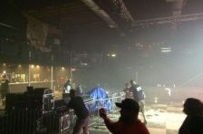 Roof collapse at First Avenue nightclub in Minneapolis.