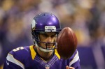 MINNEAPOLIS, MN - NOVEMBER 11: Chris Kluwe #5 of the Minnesota Vikings looks on during the game against the Detroit Lions on November 11, 2012 at Mall of America Field at the Hubert H. Humphrey Metrodome in Minneapolis, Minnesota. (Photo by Hannah Foslien/Getty Images)