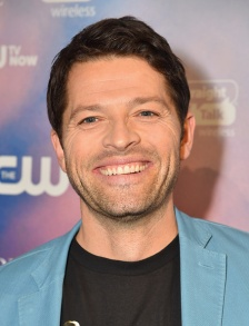 """LOS ANGELES, CA - NOVEMBER 03:  Actor Misha Collins attends the CW's Fan Party to Celebrate the 200th episode of """"Supernatural"""" on November 3, 2014 in Los Angeles, California.  (Photo by Alberto E. Rodriguez/Getty Images)"""