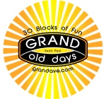 Grand Old Days logo from Grand Avenue Business Associaition