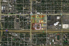 map of St Paul soccer site