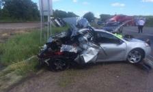 Motorhome crash