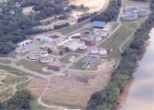 Wastewater treatment plant in Mankato
