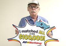 Jeffrey Bock of St. Paul won two lottery games within eight months.