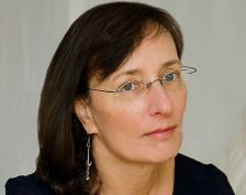 Author Julie Schumacher of St. Paul wins the 2015 Thurber Prize for American Humor on Sept. 28, 2015.