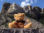 Little Ted at Mount Rushmore
