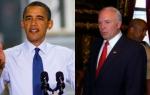Obama and Kline