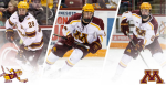 Gophers hockey Twitter, Fasching, Bischoff, Reilly