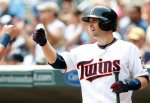 Minnesota Twins' Brian Dozier plays against the Texas Rangers, Thursday, Aug. 13, 2015, in Minneapolis. (AP Photo/Jim Mone)