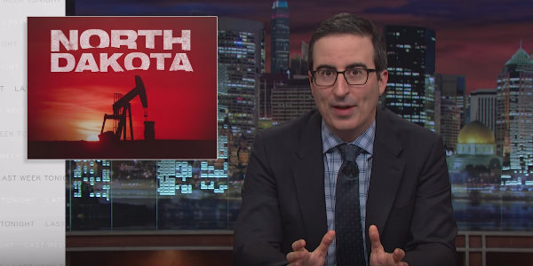 John Oliver doesn't like you much, North Dakota