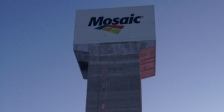 mosaic fertilizer shaft headframe saskatchewan