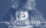 Welcome Hat logo by Saint Paul Hello.