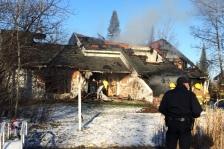 international falls mayor home fire