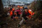 ASSOCIATED PRESS DO NOT REUSE Greece Migrants