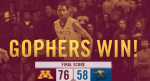Gophers men's basketball (Twitter)