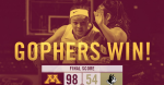 Gophers over Wofford