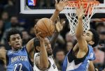 AP Images DO NOT REUSE -- Wolves-Spurs