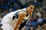Minnesota Timberwolves' Kevin Martin plays against the Charlotte Hornets in the first quarter of an NBA basketball game, Tuesday, Nov. 10, 2015, in Minneapolis. (AP Photo/Jim Mone)
