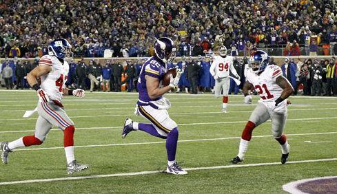 New York Giants v. Minnesota Vikings NFL Sunday Night Football game tonight