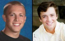 Jacob Flynn, left, and John Price, who were killed in a car accident in Lakeville Dec. 4, 2015.