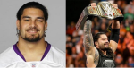 Roman Reigns (MN Vikings Twitter)